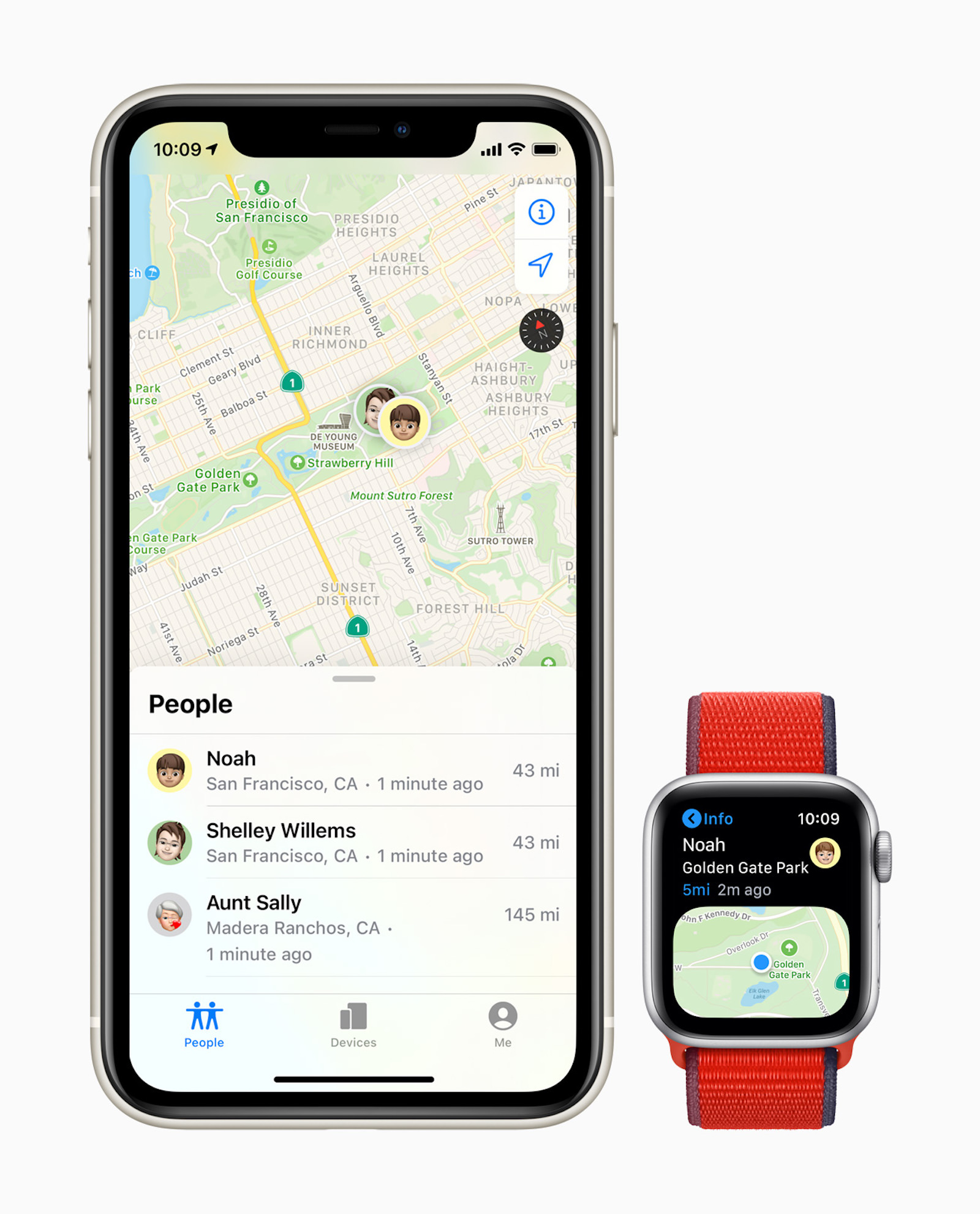 Apple watch find my screen iphone11 screen 09152020