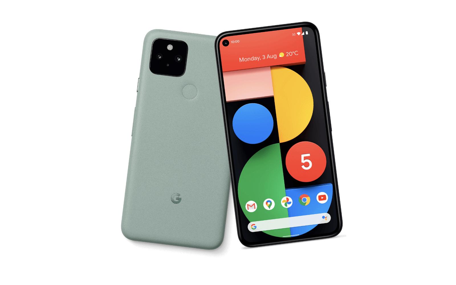 Pixel 5 green color