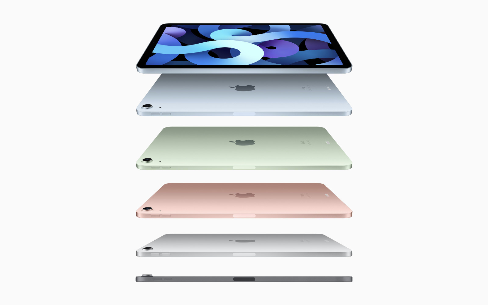 Ipad air 4thgen top