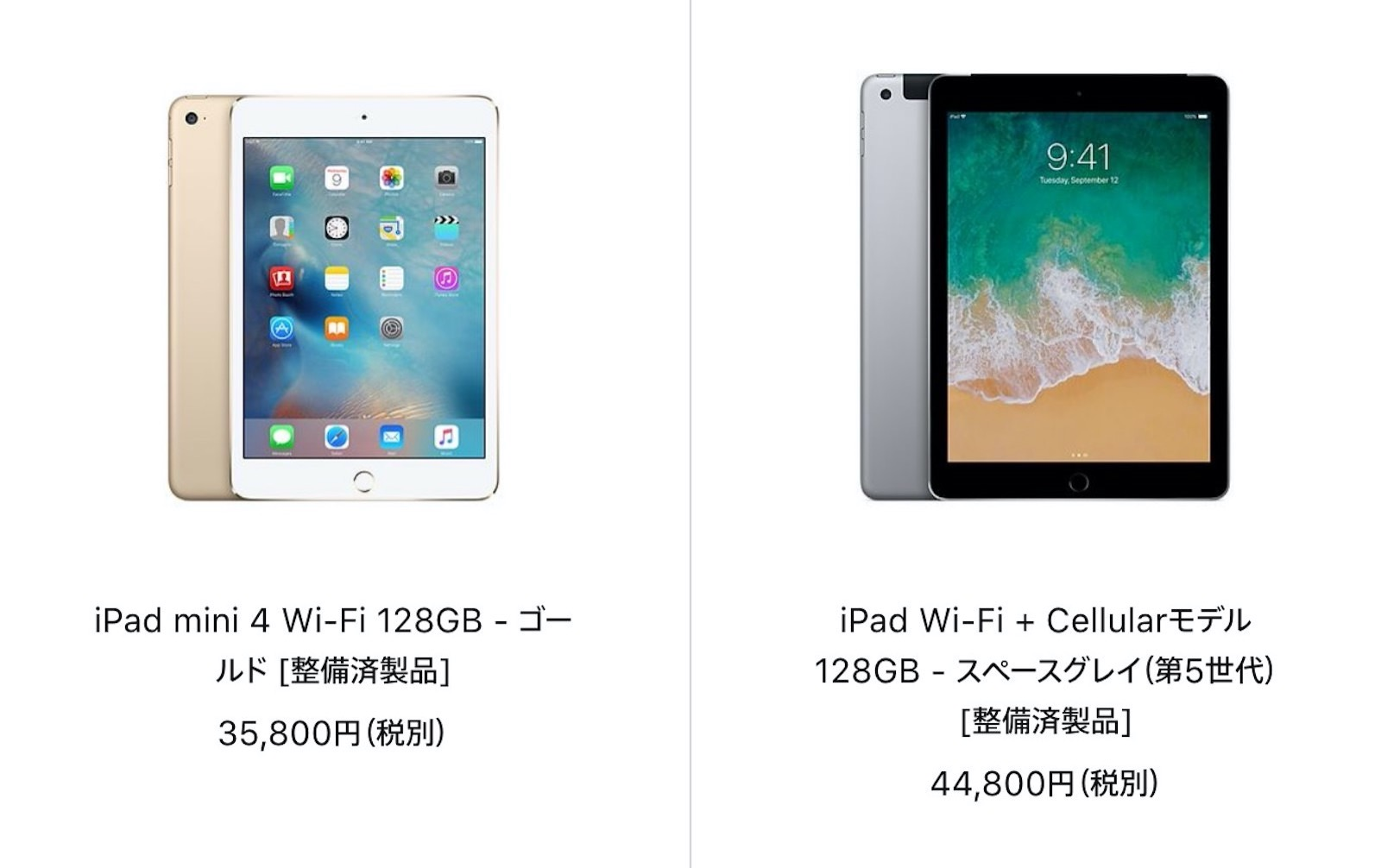 Ipad mini 4 is on sale