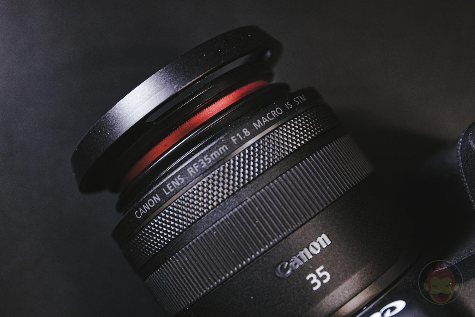 Canon RF35mm F1 8 MACRO IS STM Lens Hood 14