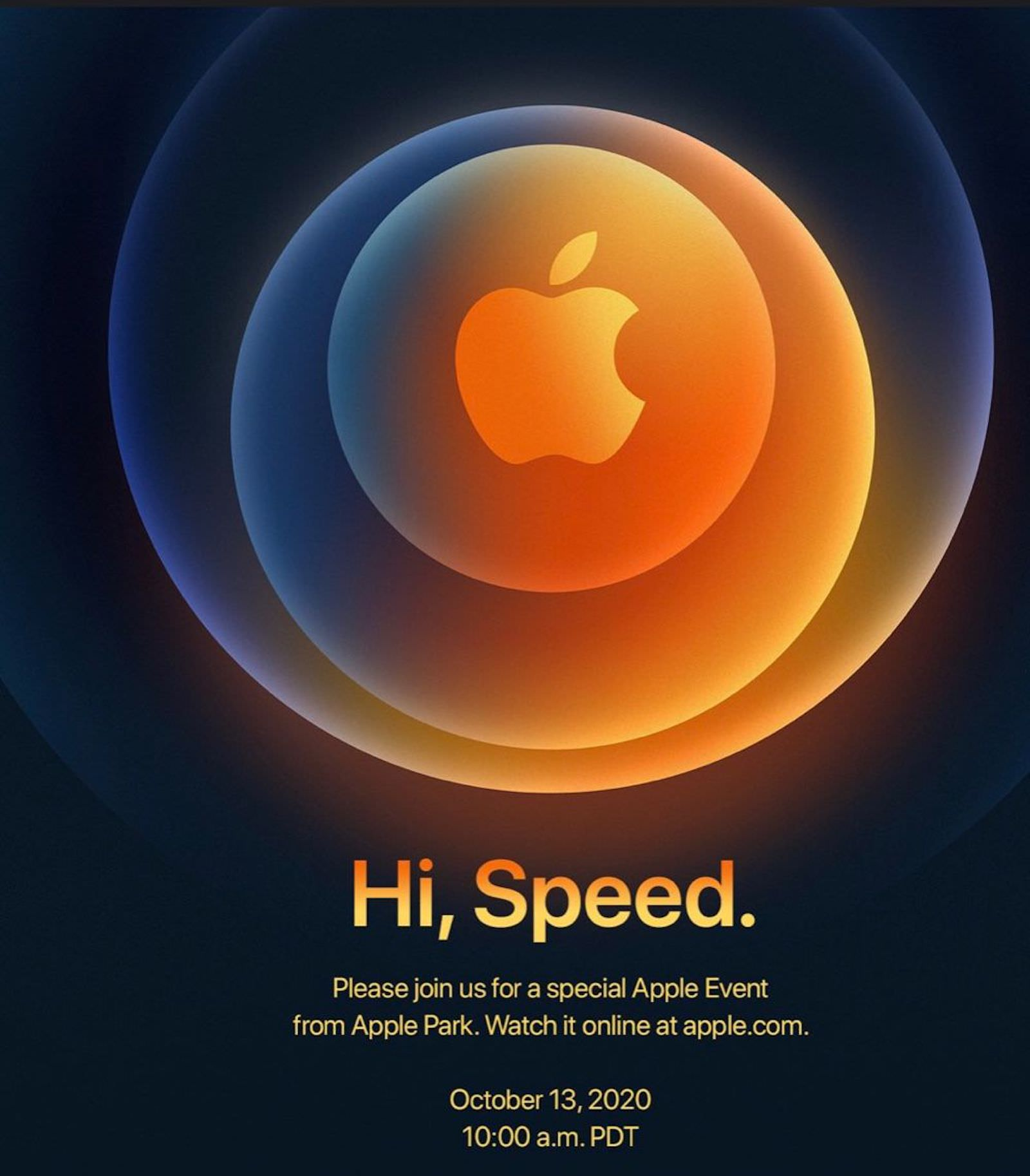 Hi Speed Apple Event