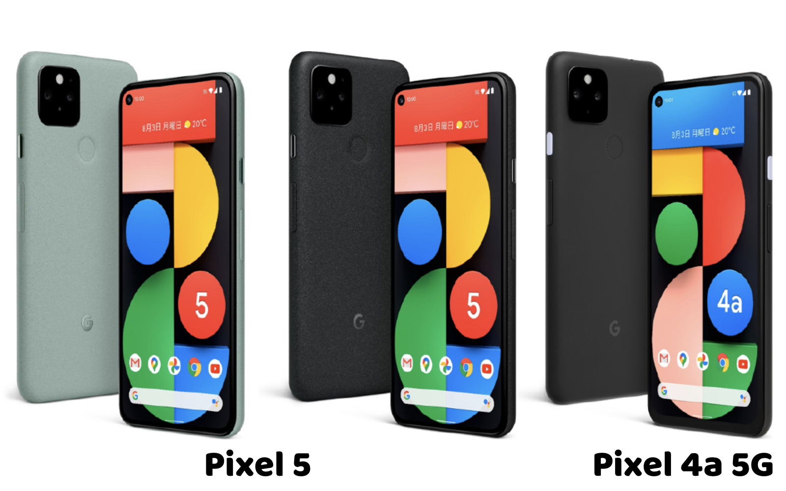 Pixel 5g and 4a5g