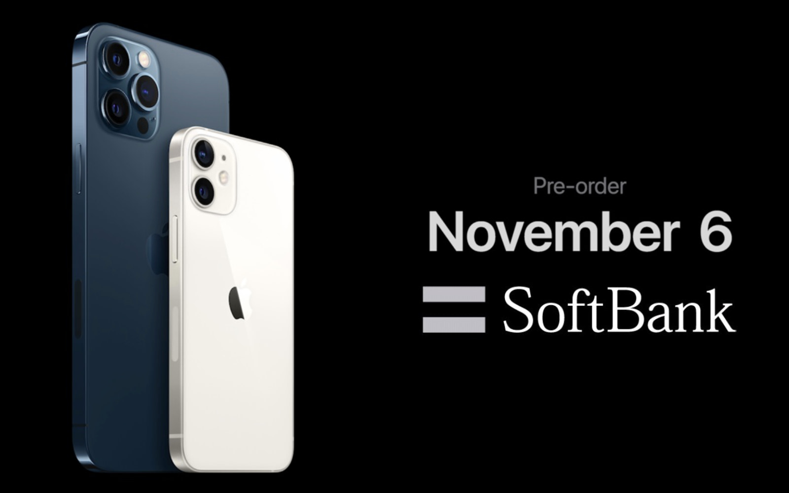 Softbank Preorder iphone12mini promax nov6