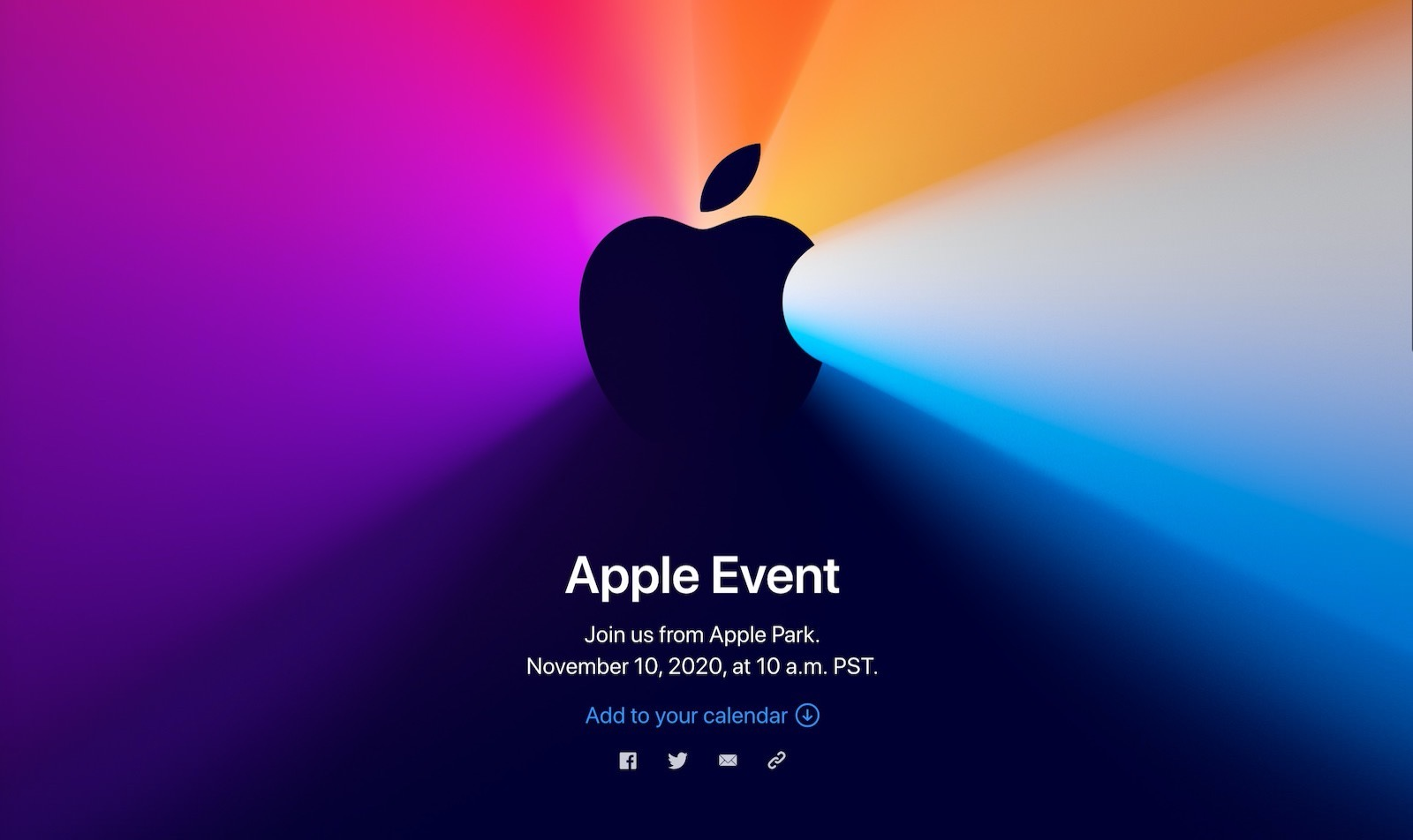 Apple Silicon Mac event