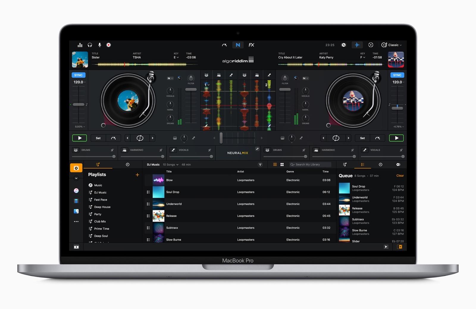 Apple new macbookpro dj pro screen 11102020
