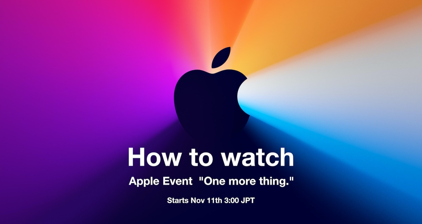 How to watch One more thing event