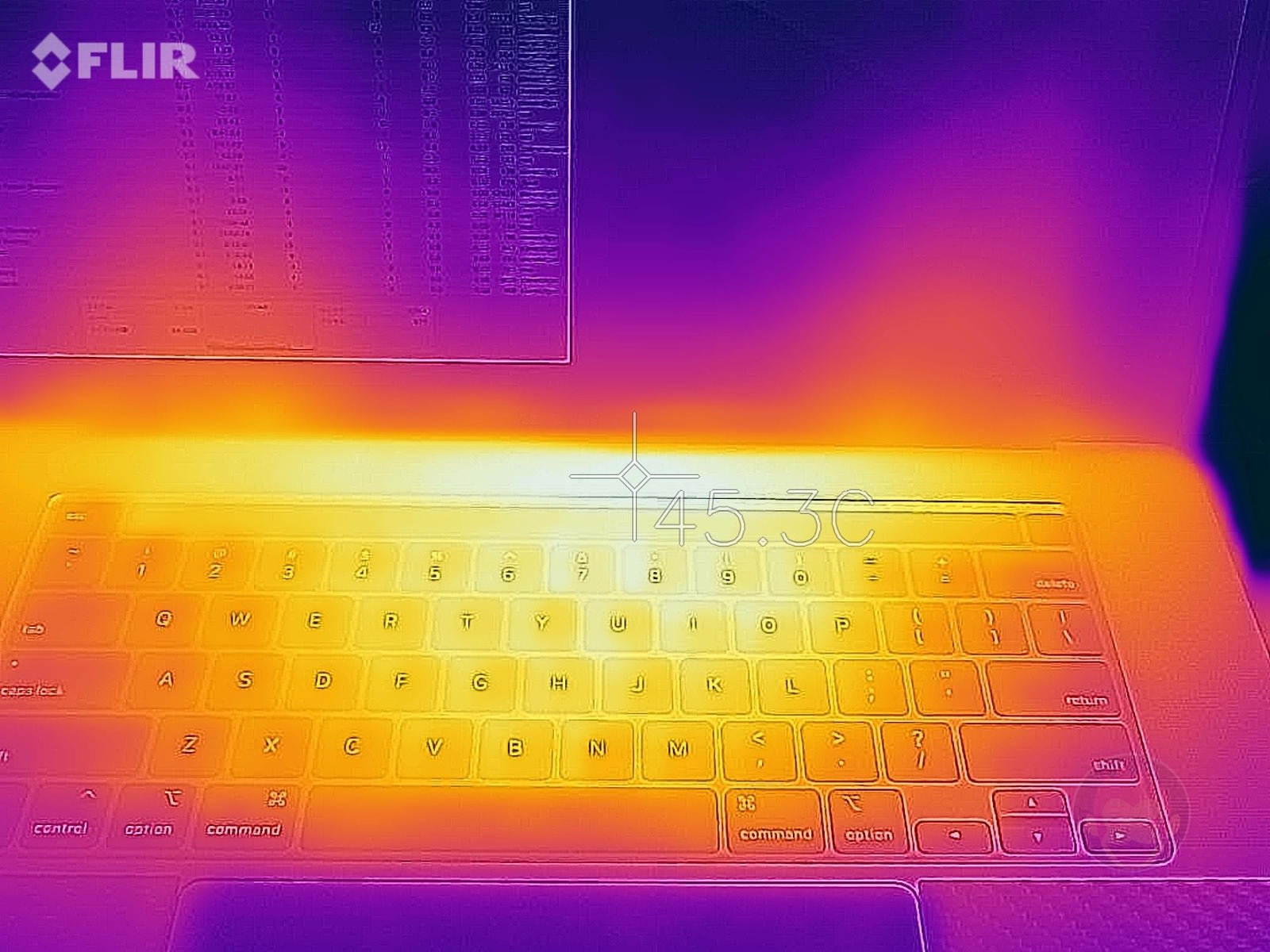 Keyboard heat on macbookpro 16inch 01