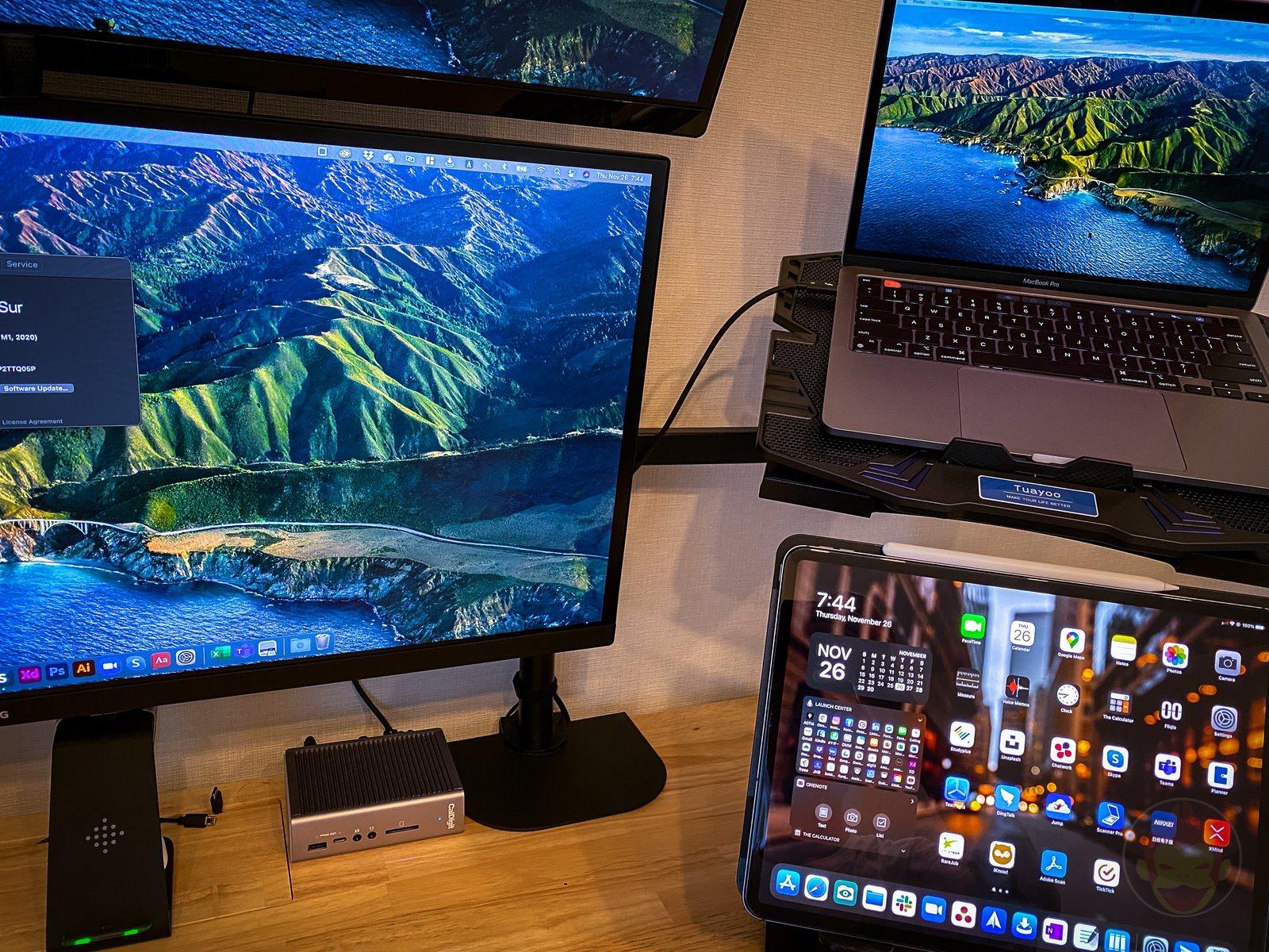 M1 MacBookPro Desk Setup Kitano 01
