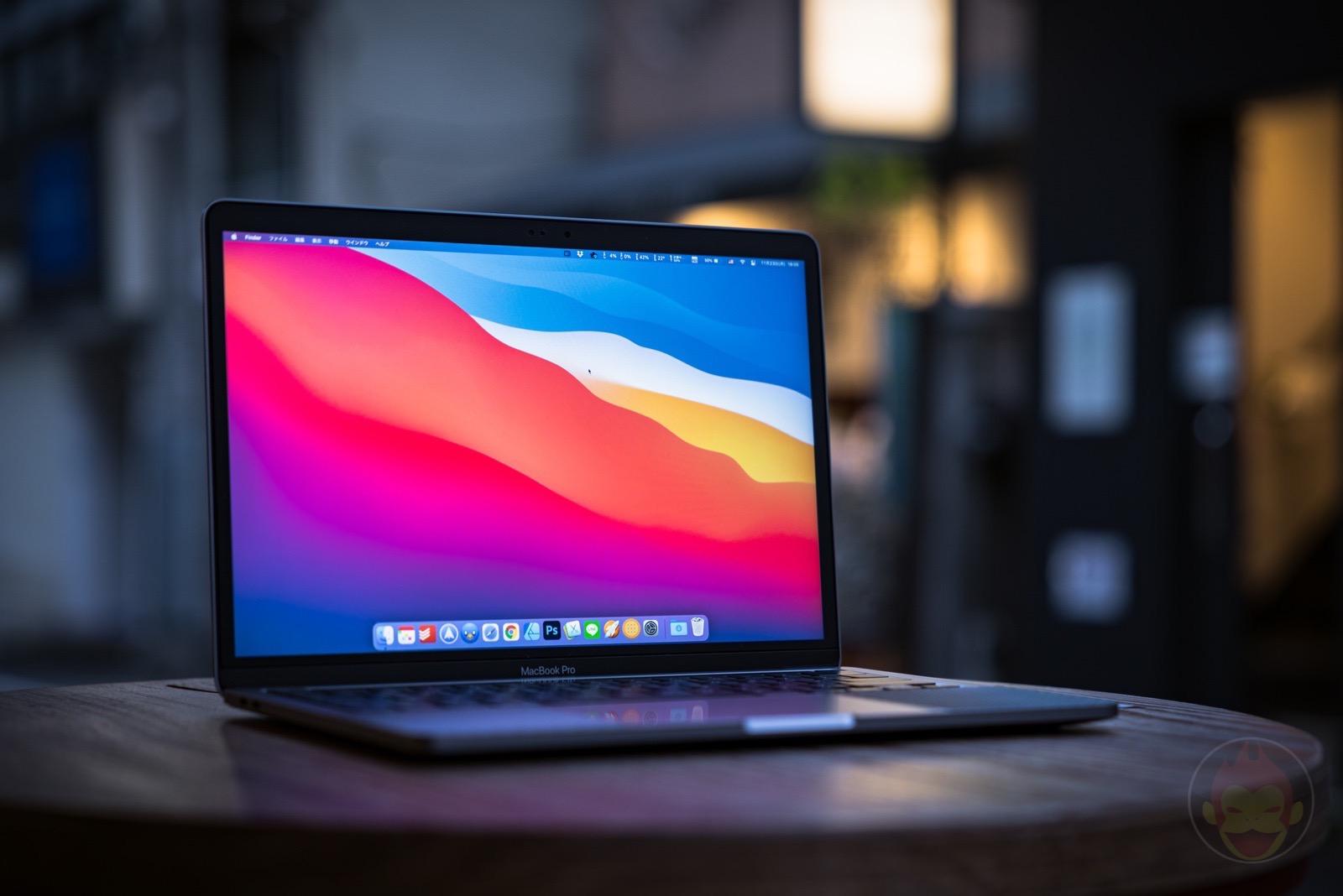 MacBook Pro 13inch M1 factory 01