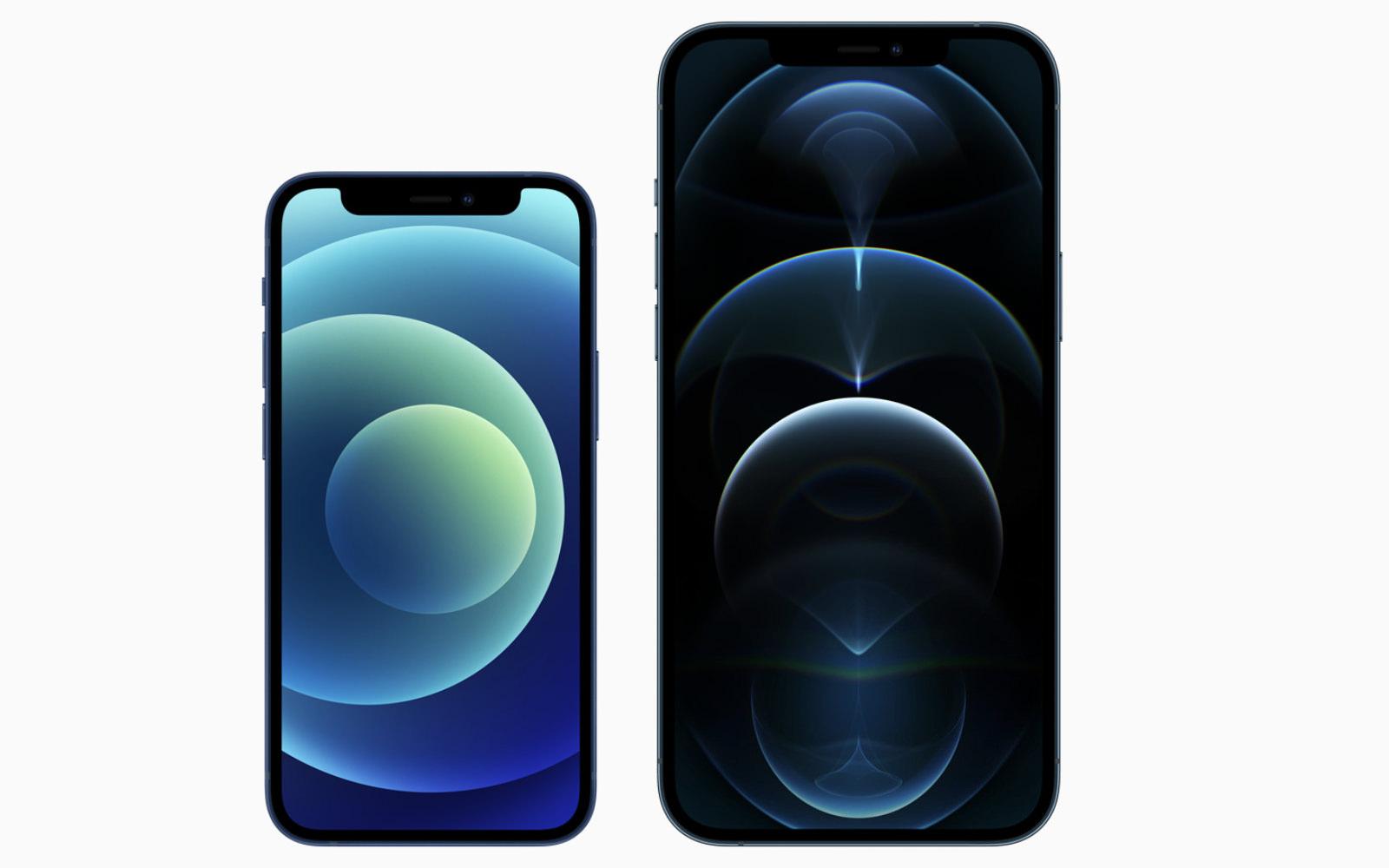 Iphone 12 mini and 12 pro max