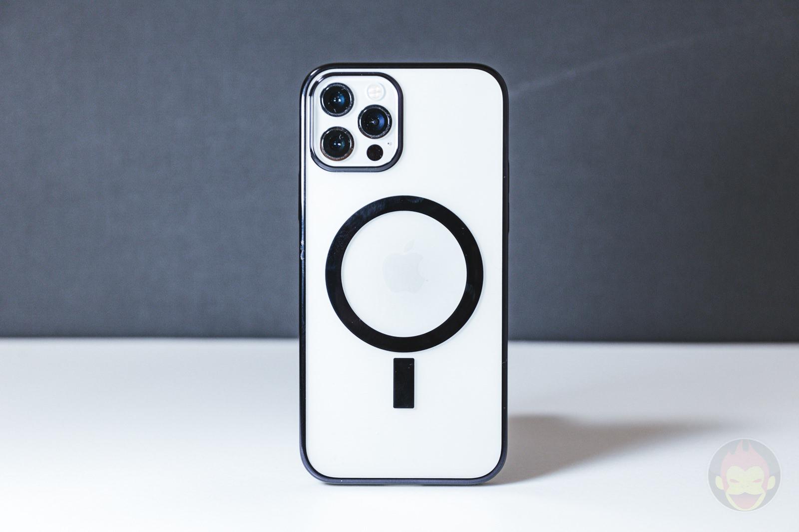 KAHITE Black MagSafe iPhone 12 Pro Case 01