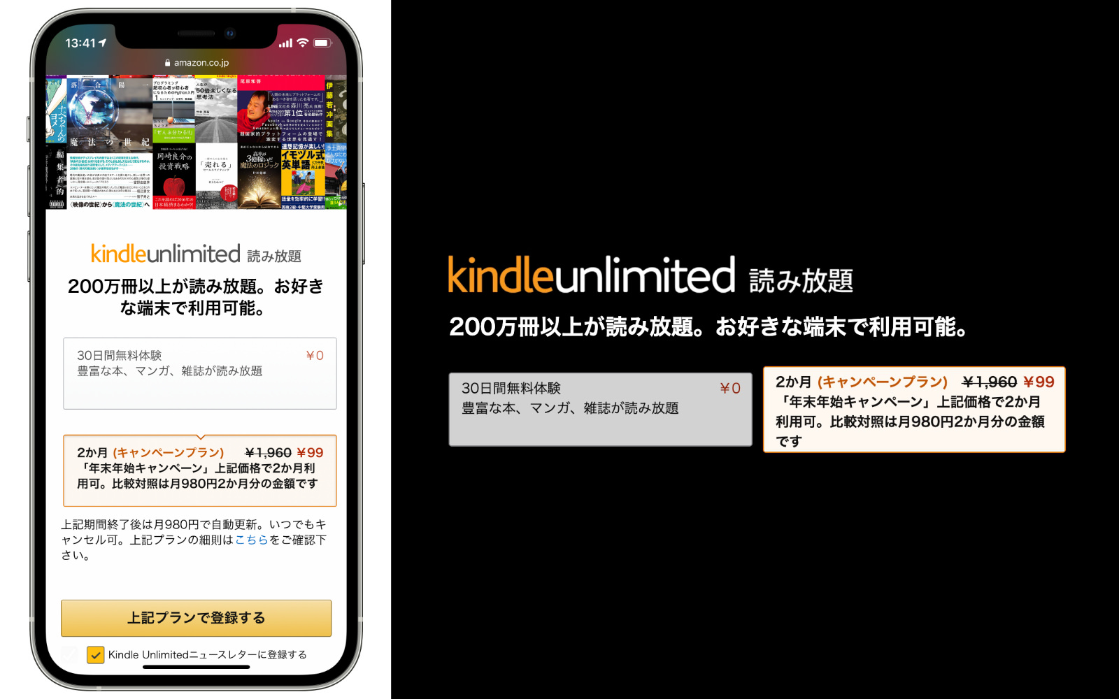 Kindle Unlimited Campagin page 202012