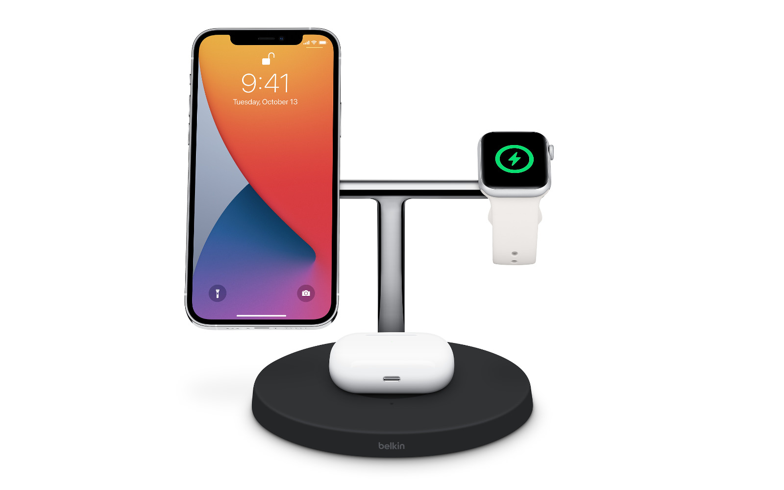 Belkin boost↑charge pro 3 in 1 wireless charger with magsafe 2