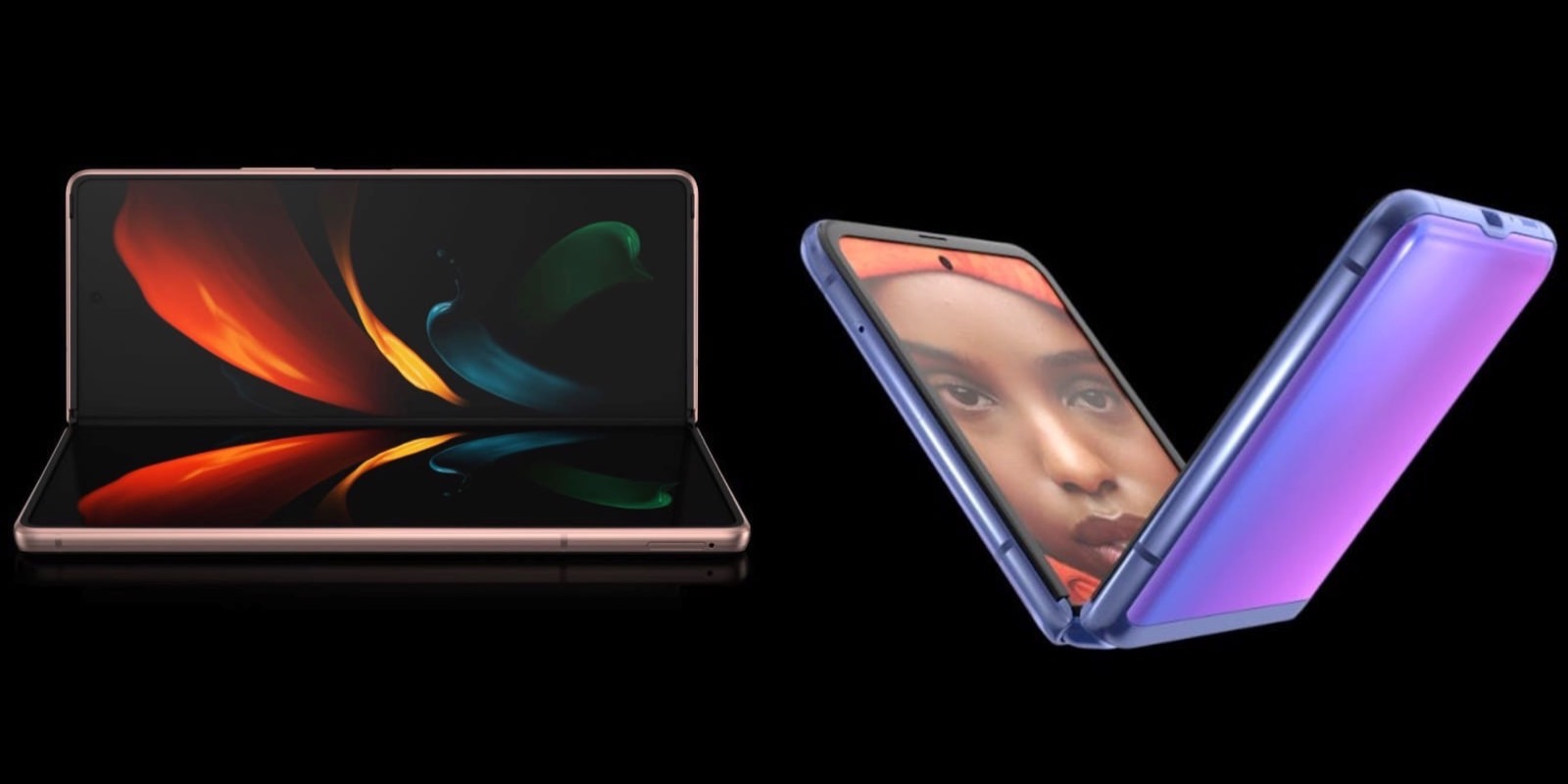 Galaxy Z Fold and Z flip