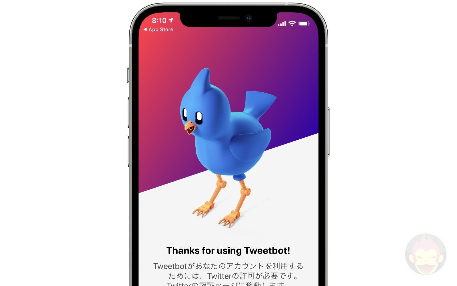Thanks for using tweetbot6