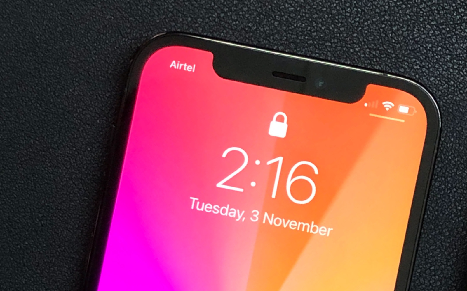 The Notch on the iphone 13 series are getting smaller