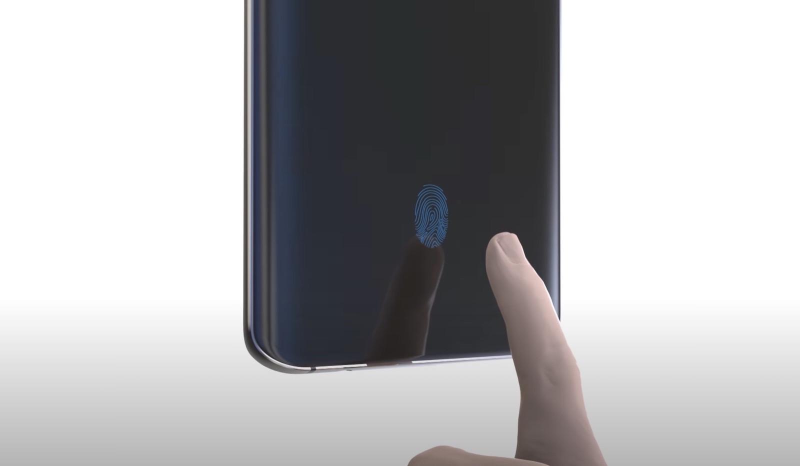 Fingerprint sensor in display qualcomm