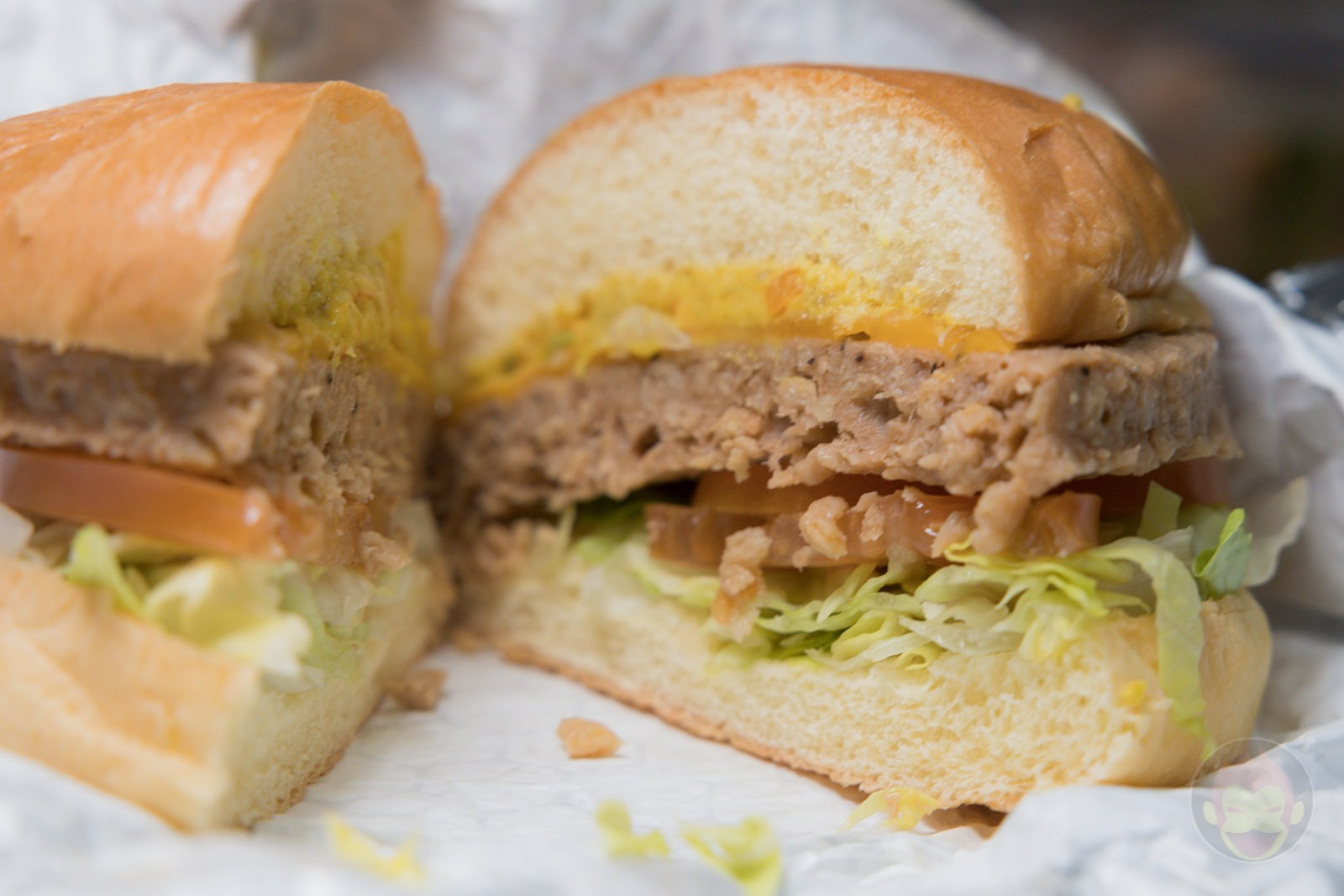 Costco Garden Burger no meat used 07