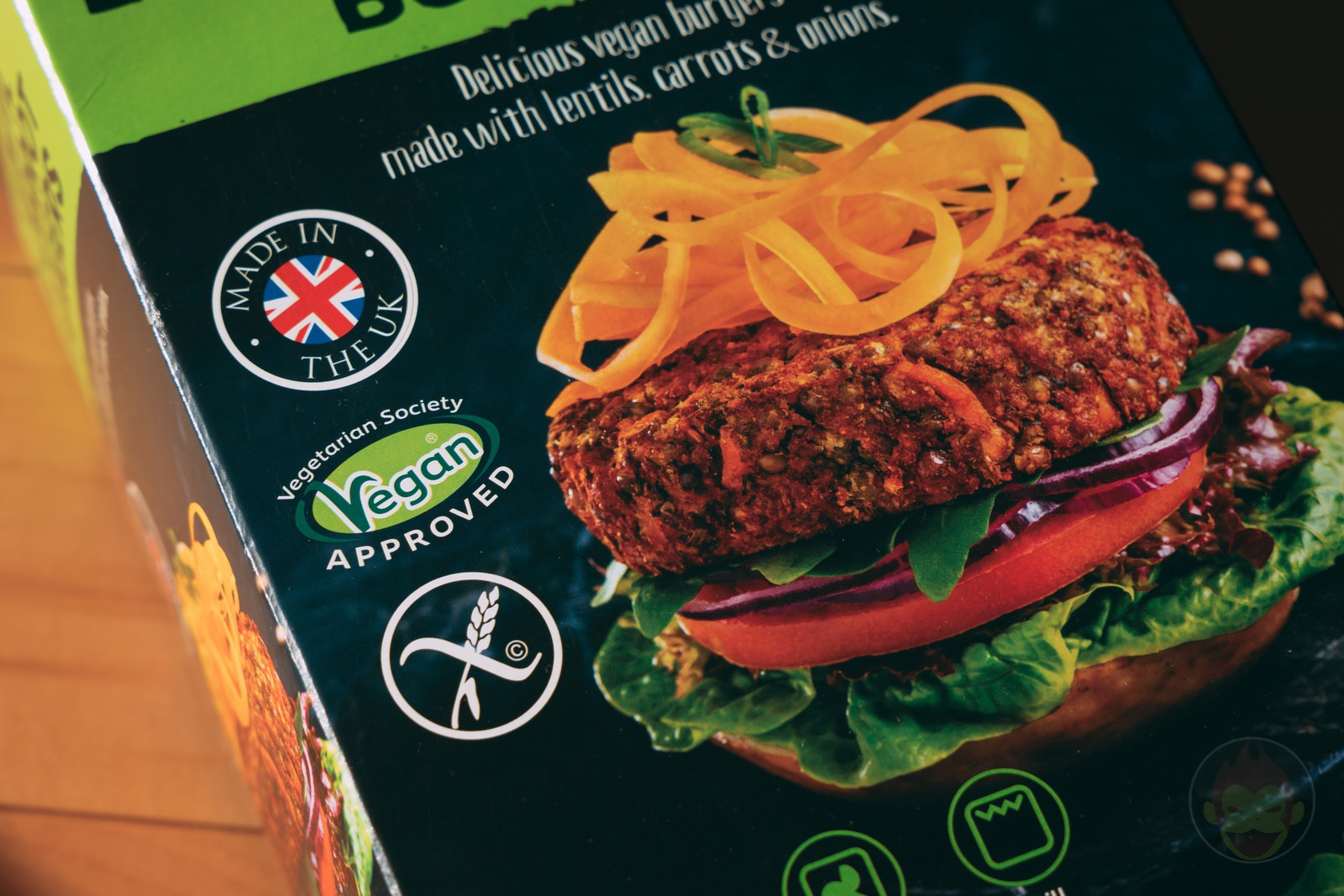 LENTIL And Carrot Burger Patties Review 01