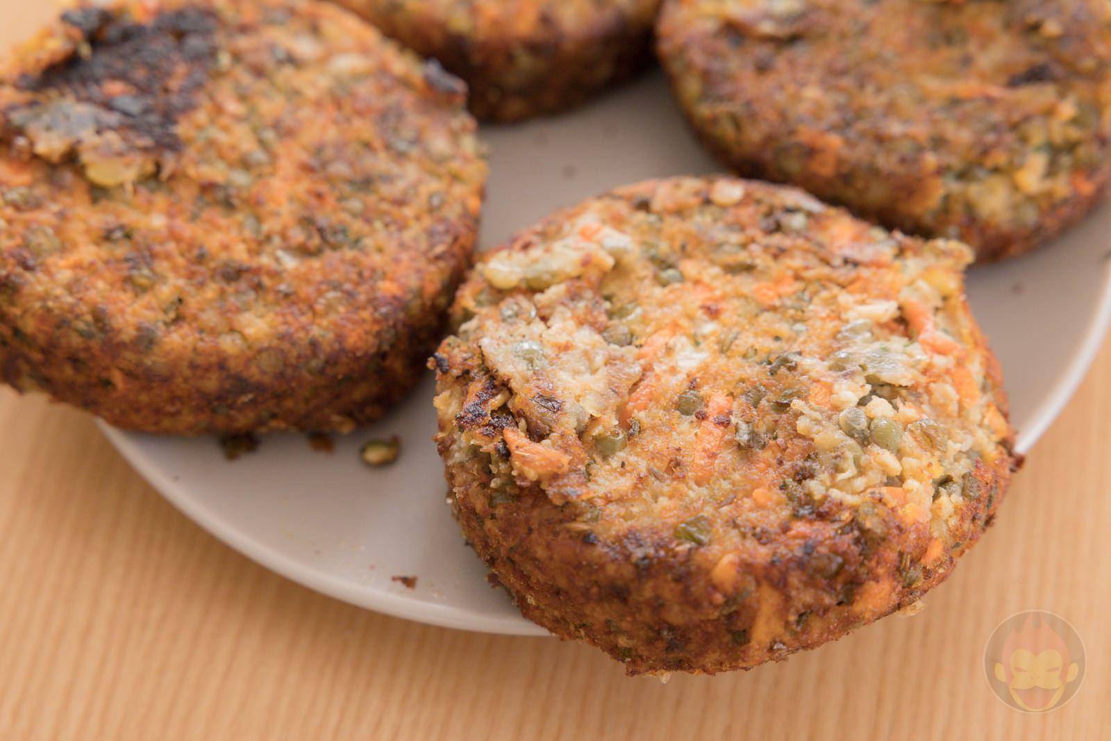 LENTIL And Carrot Burger Patties Review 04