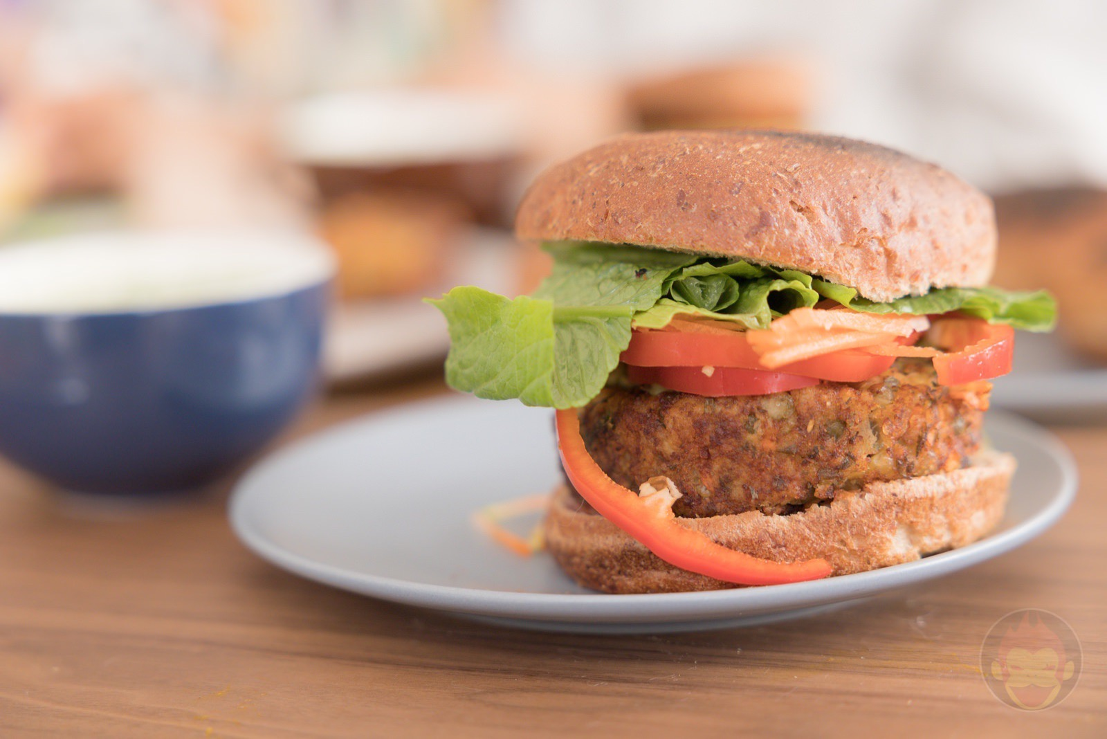 LENTIL And Carrot Burger Patties Review 06