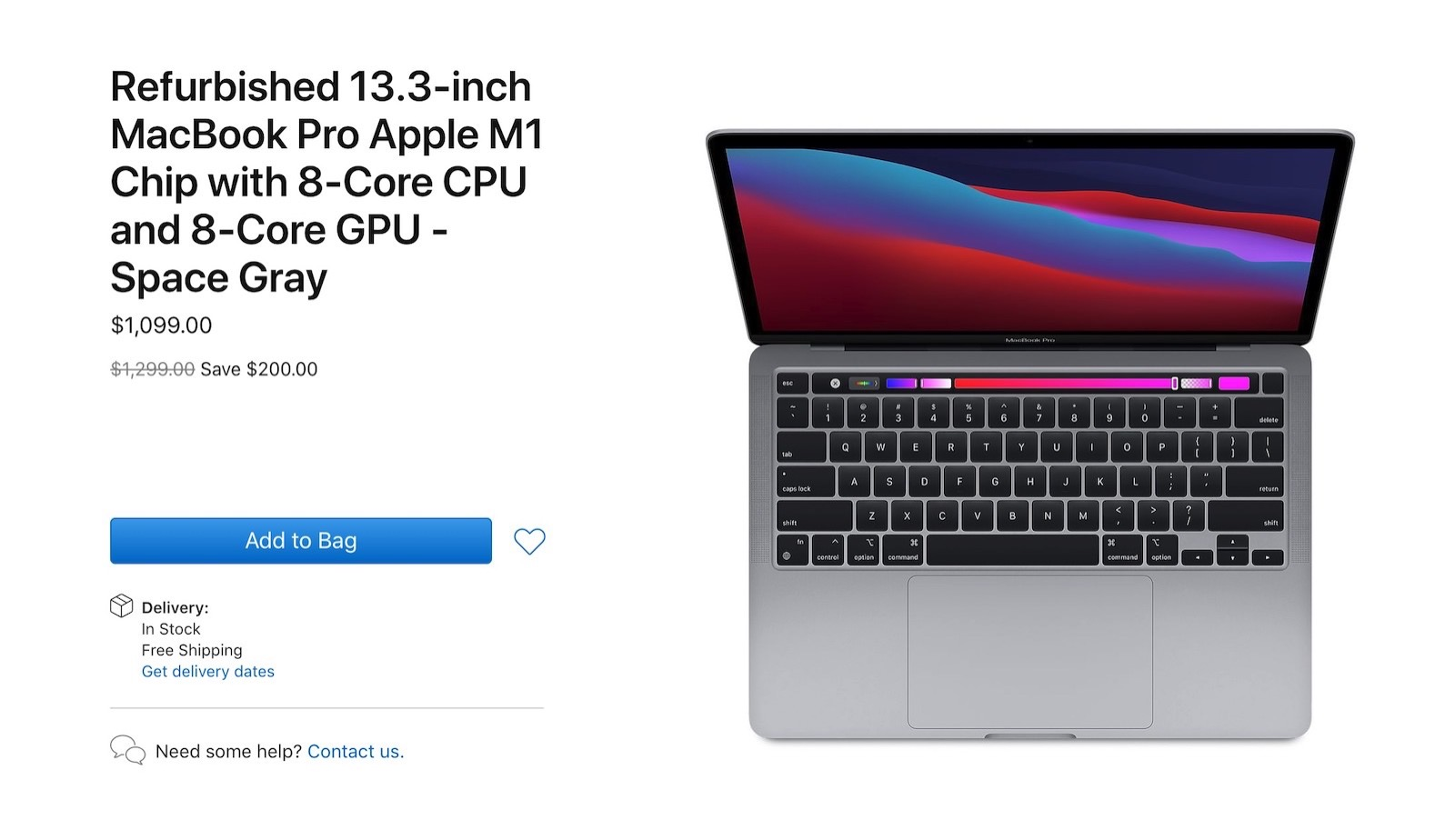 M1 macbook pro refurbished models
