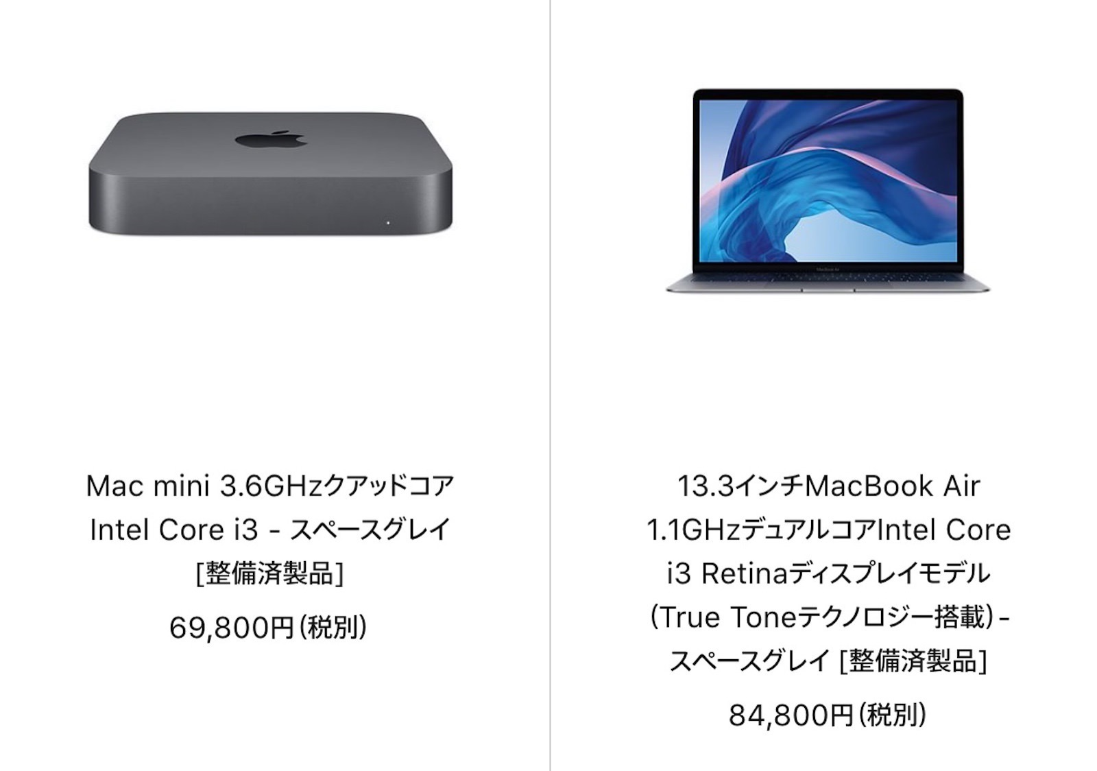 Mac mini refurbished model 20210301