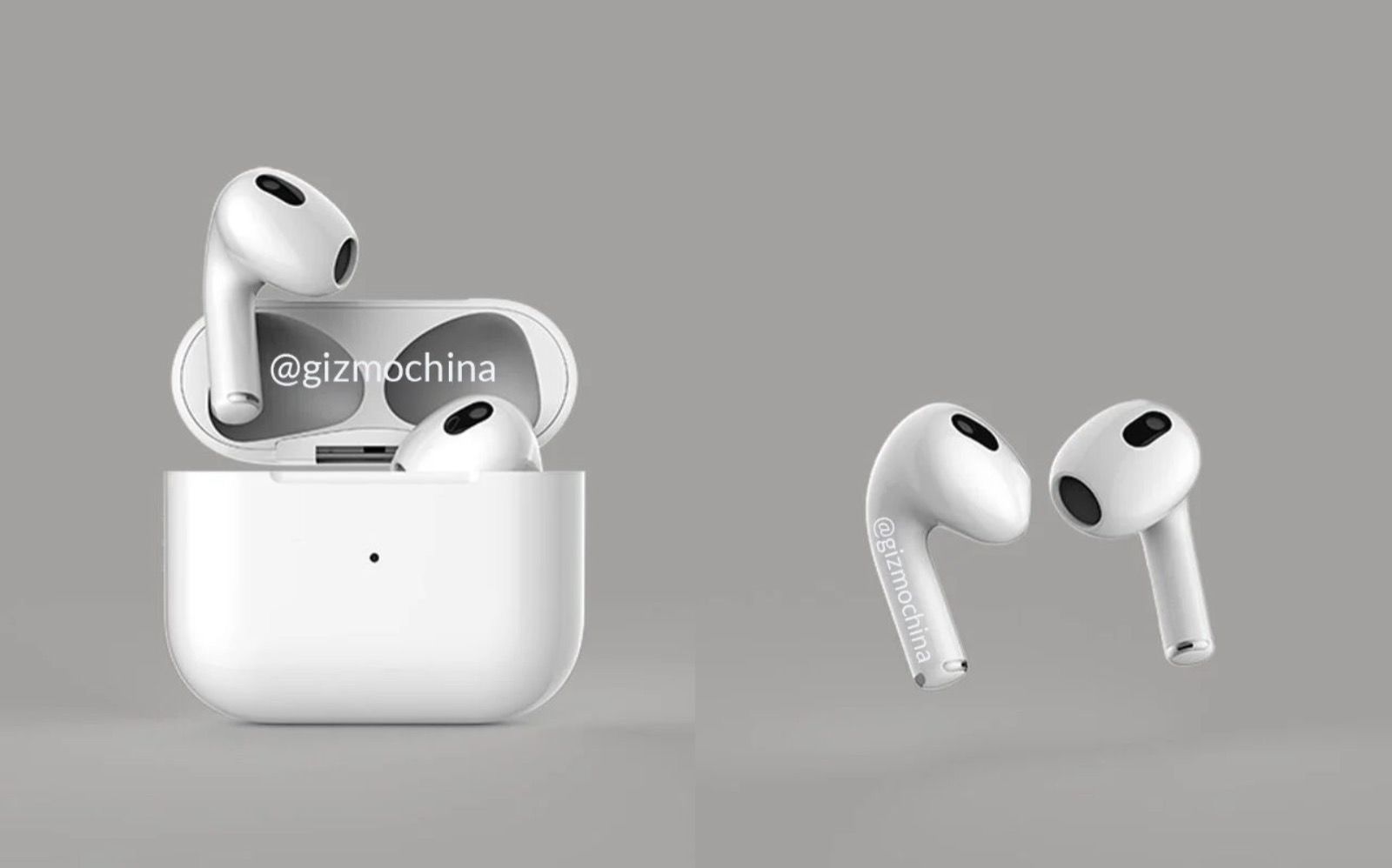 AirPods 3 Rendering Image Gizmochina