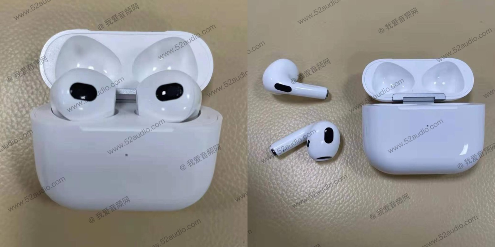AirPods 3 photos leak again