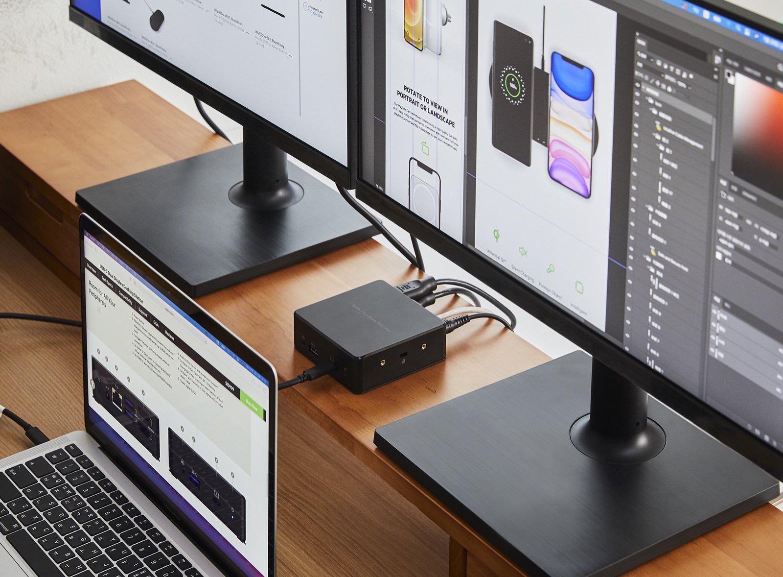 Belkin USBC Dual Display Docking Station 06