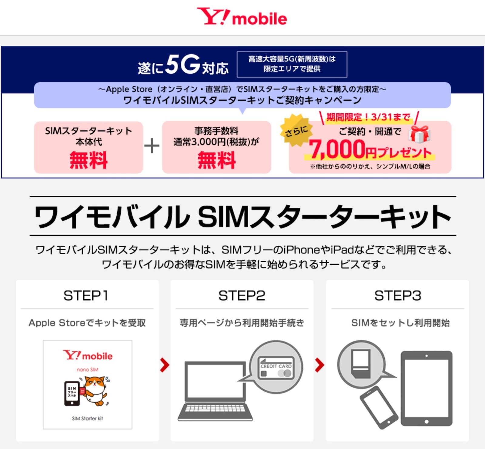 Ymobile iphone startup campaign