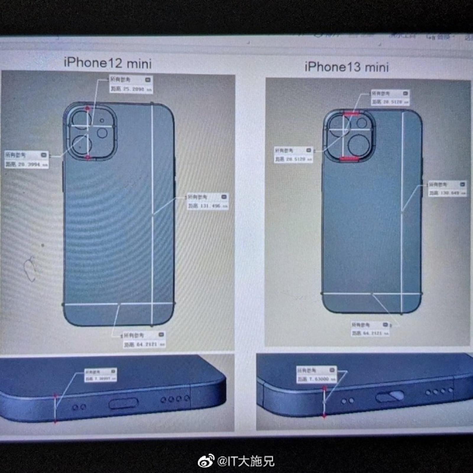 Iphone 13 mini cad image