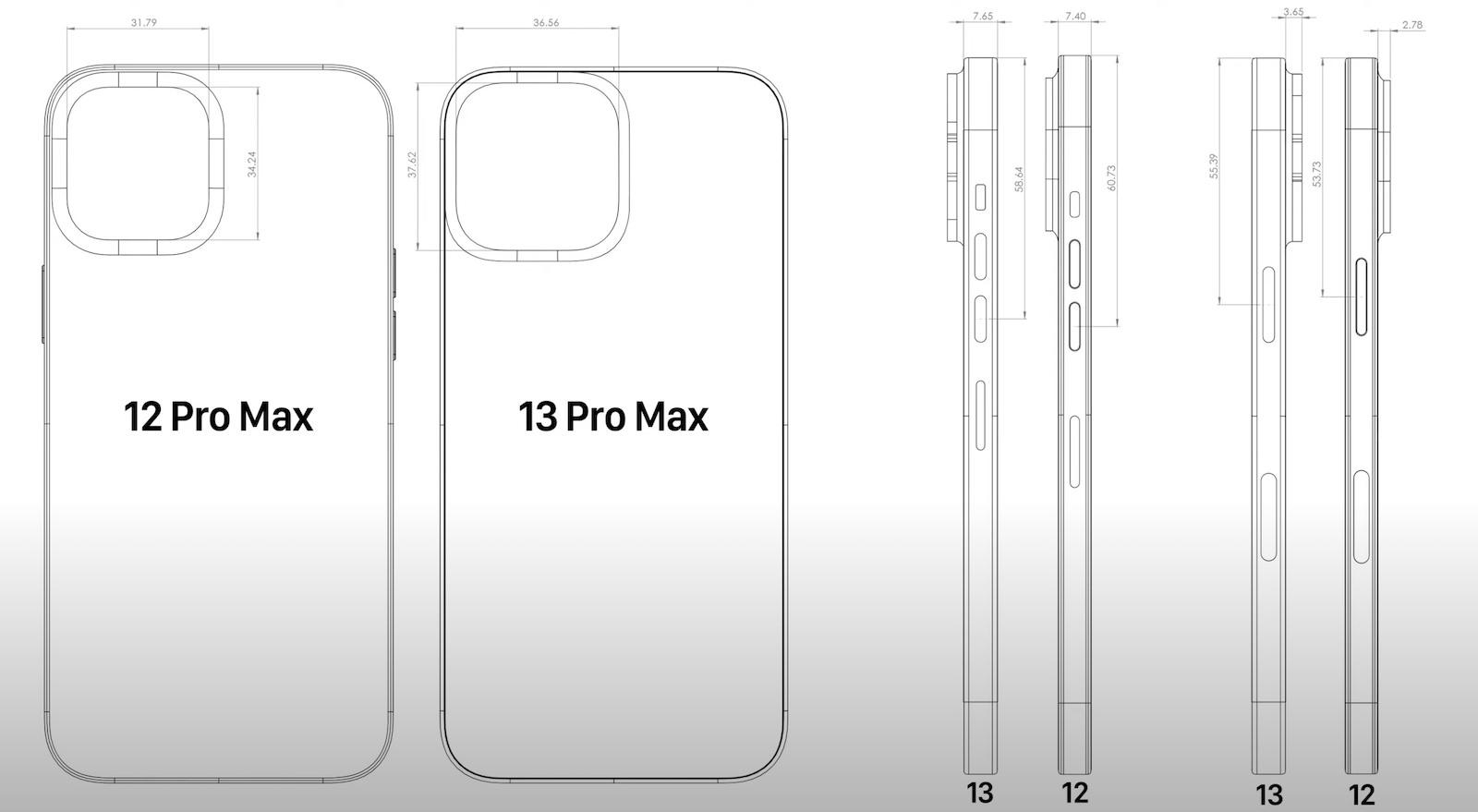 Iphone 13 pro max vs 12 pro max comparison