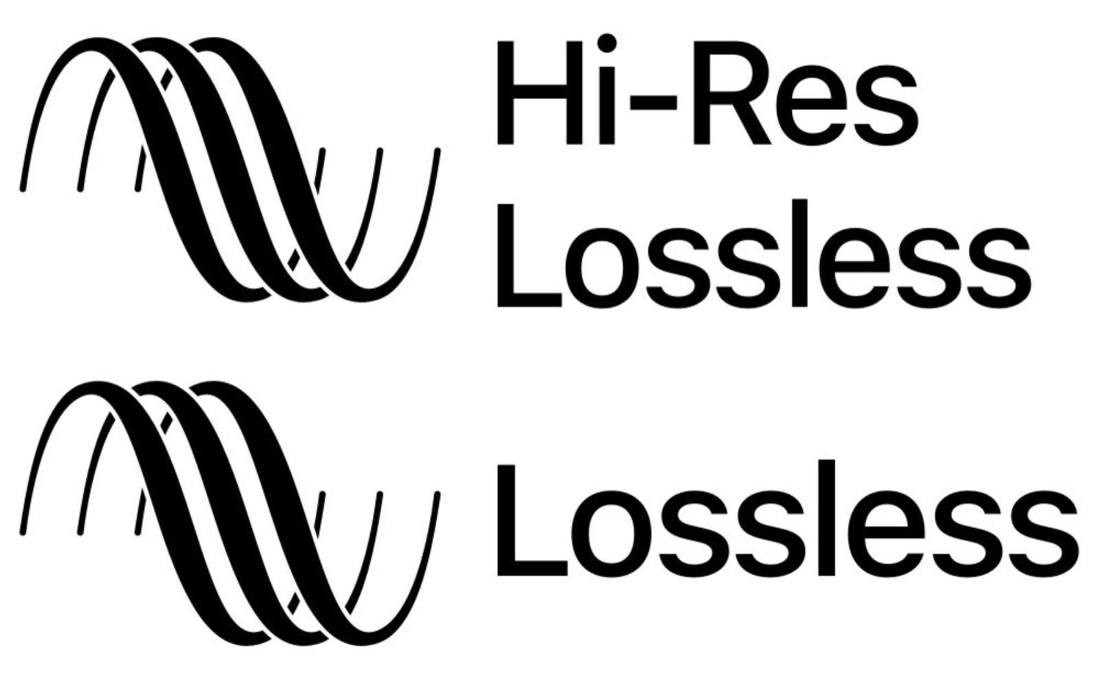 Hi Res Lossless Logo