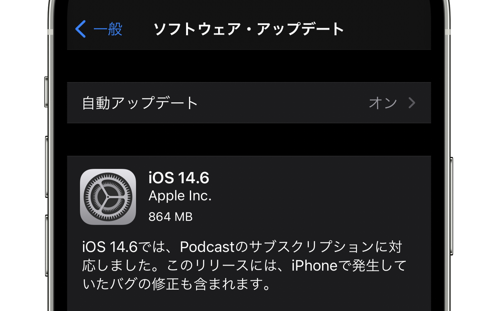 IOS14 6 software update