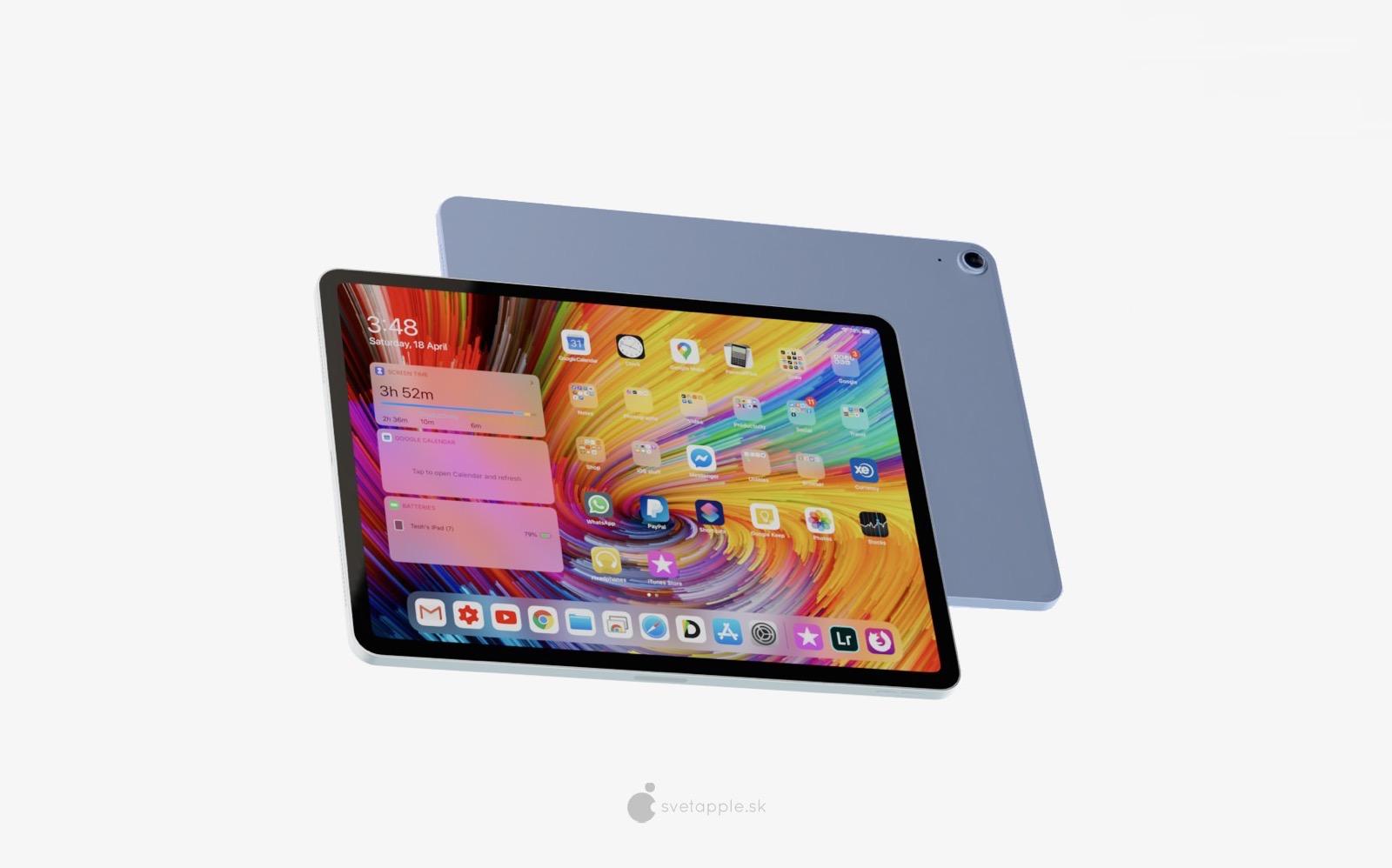 Ipad mini 6 concept image
