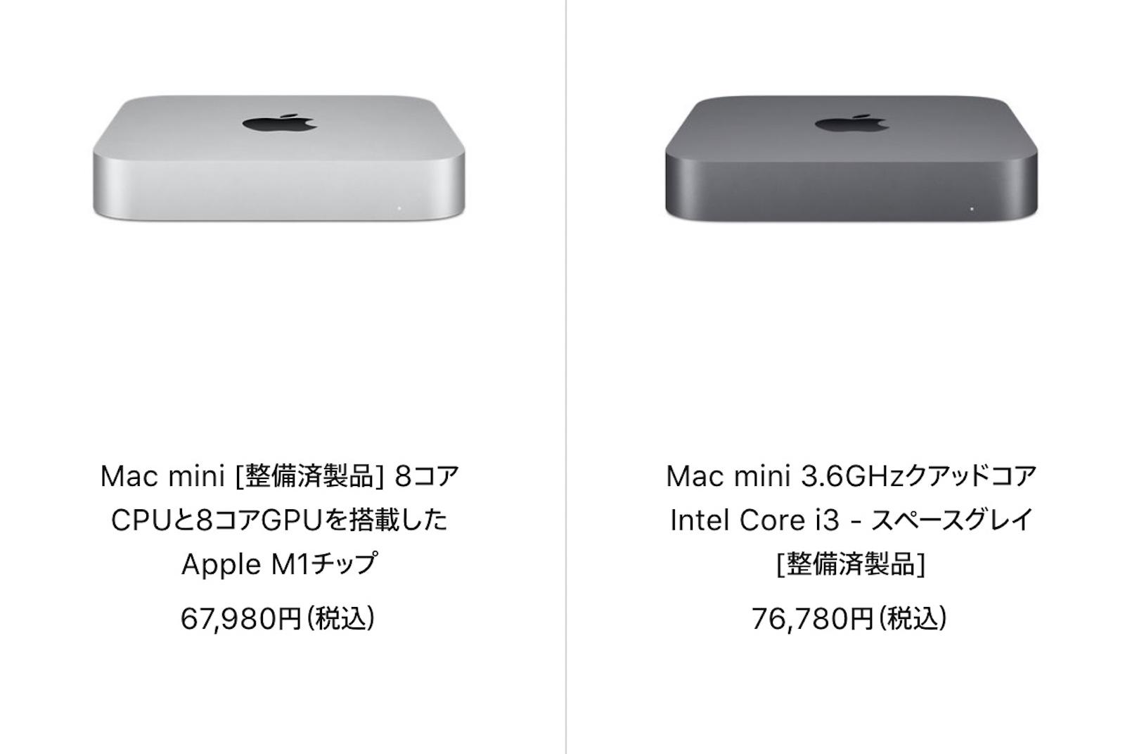 Mac refurbished sale 20210531