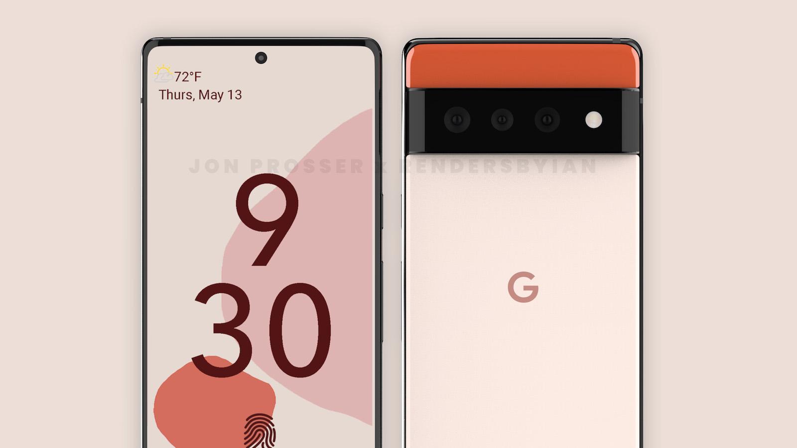 Pixel 6 pro front back