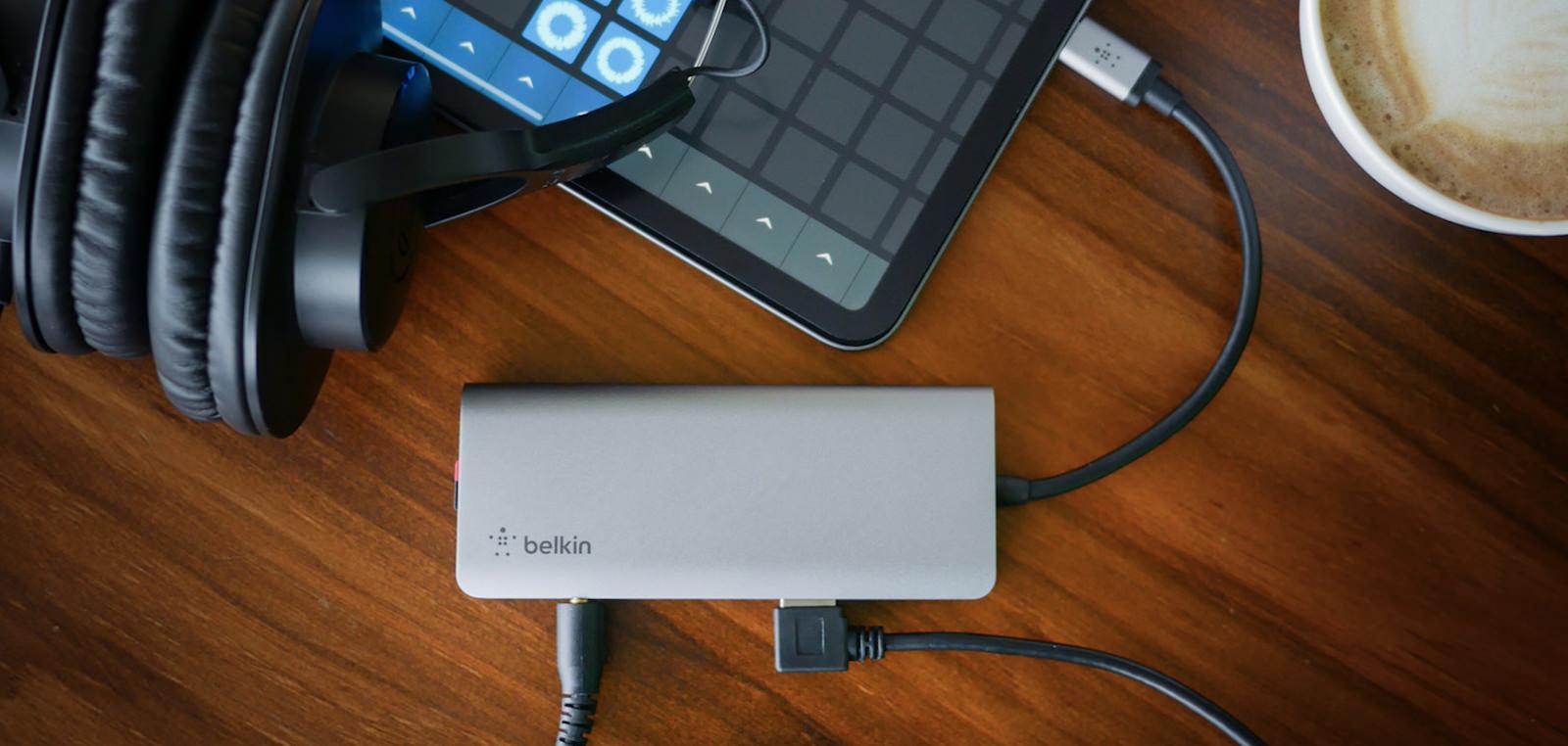 USB-C 7-in-1マルチポートハブアダプター