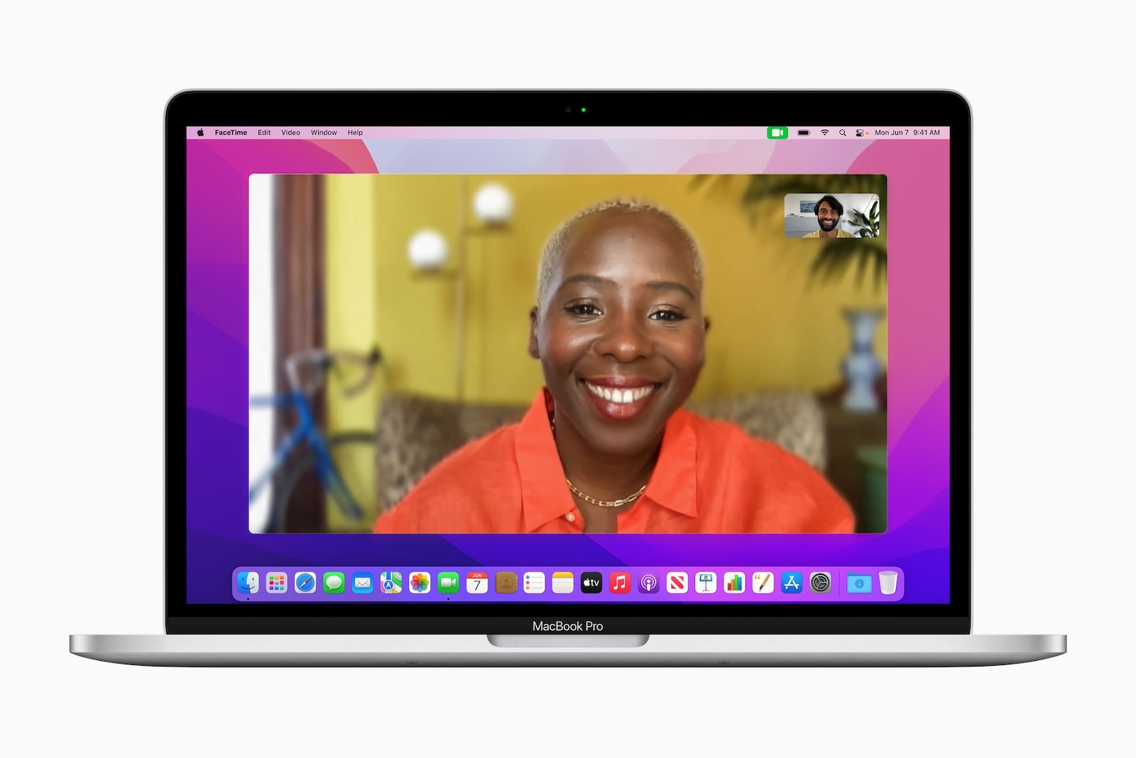 Apple macos monterey facetime portrait mode 06072021
