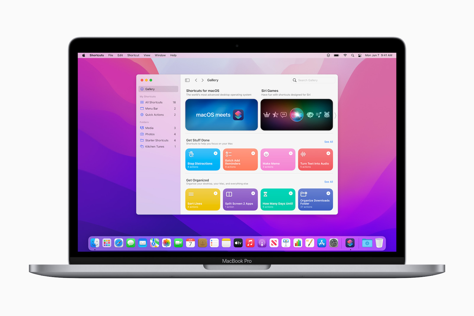 Shorcuts for macOS
