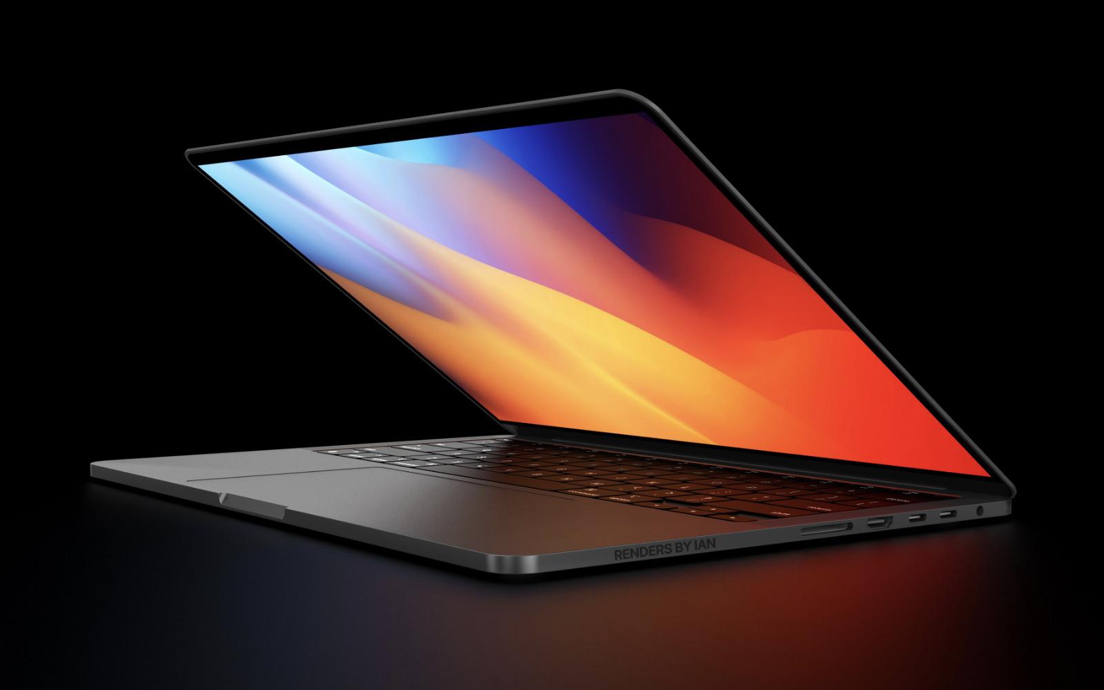 MacBookPro 14inch rendersbyian