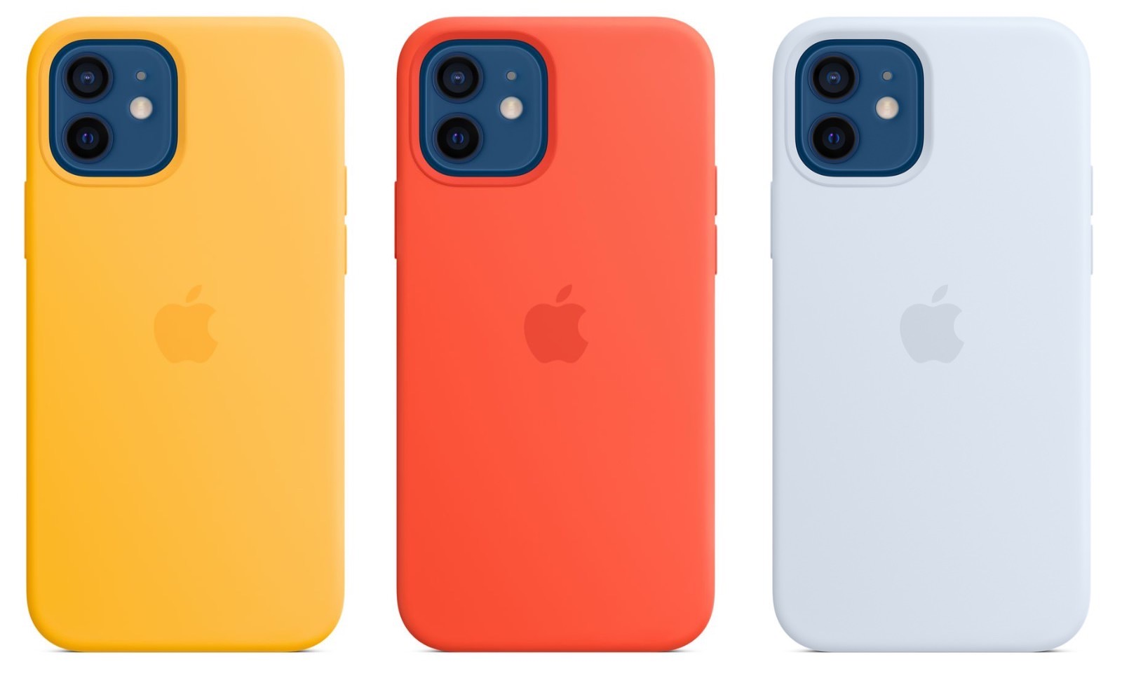 New iPhon12 Silicone Colors