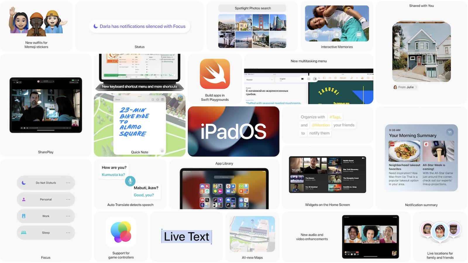 iPadOS 15まとめ