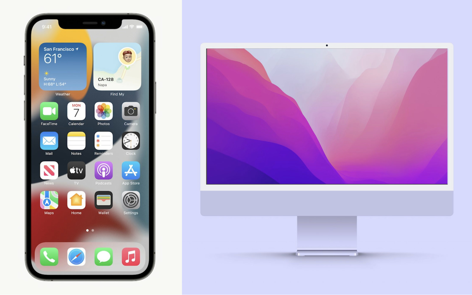 Wallpapers for iOS15andMonterey
