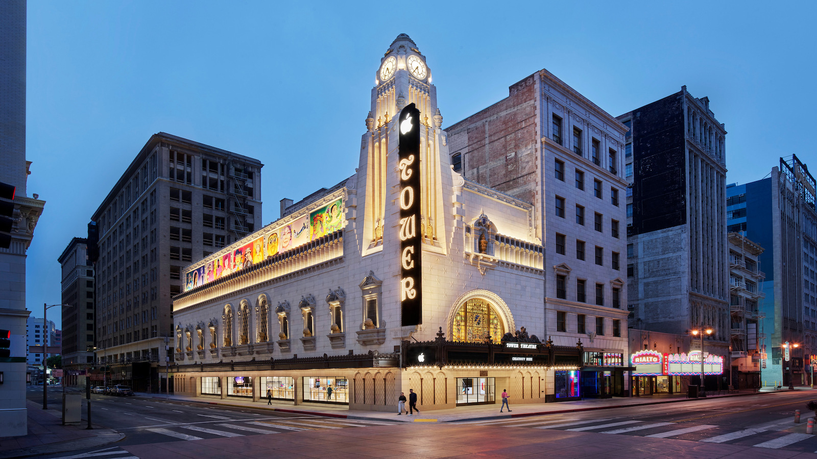 Apple nso tower theater la street view 06222021