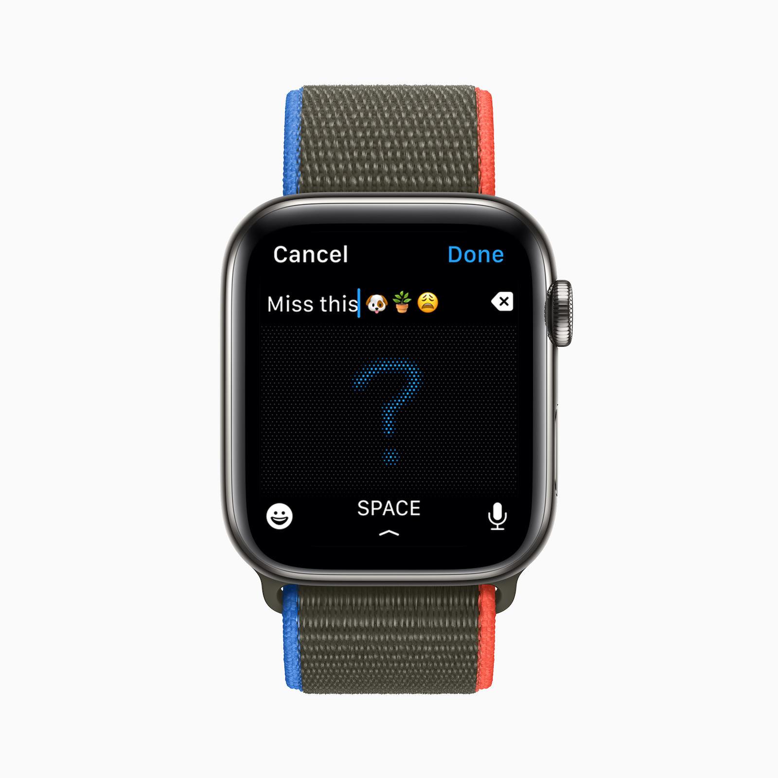 watchOS 8メッセージ