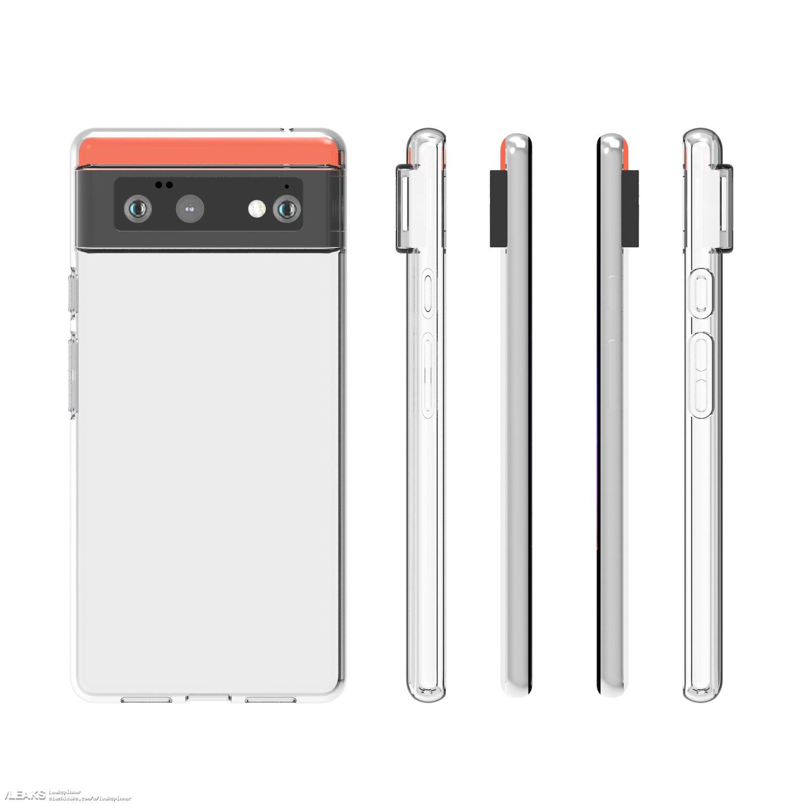 Google pixel 6 protective case matches previously leaked design 505