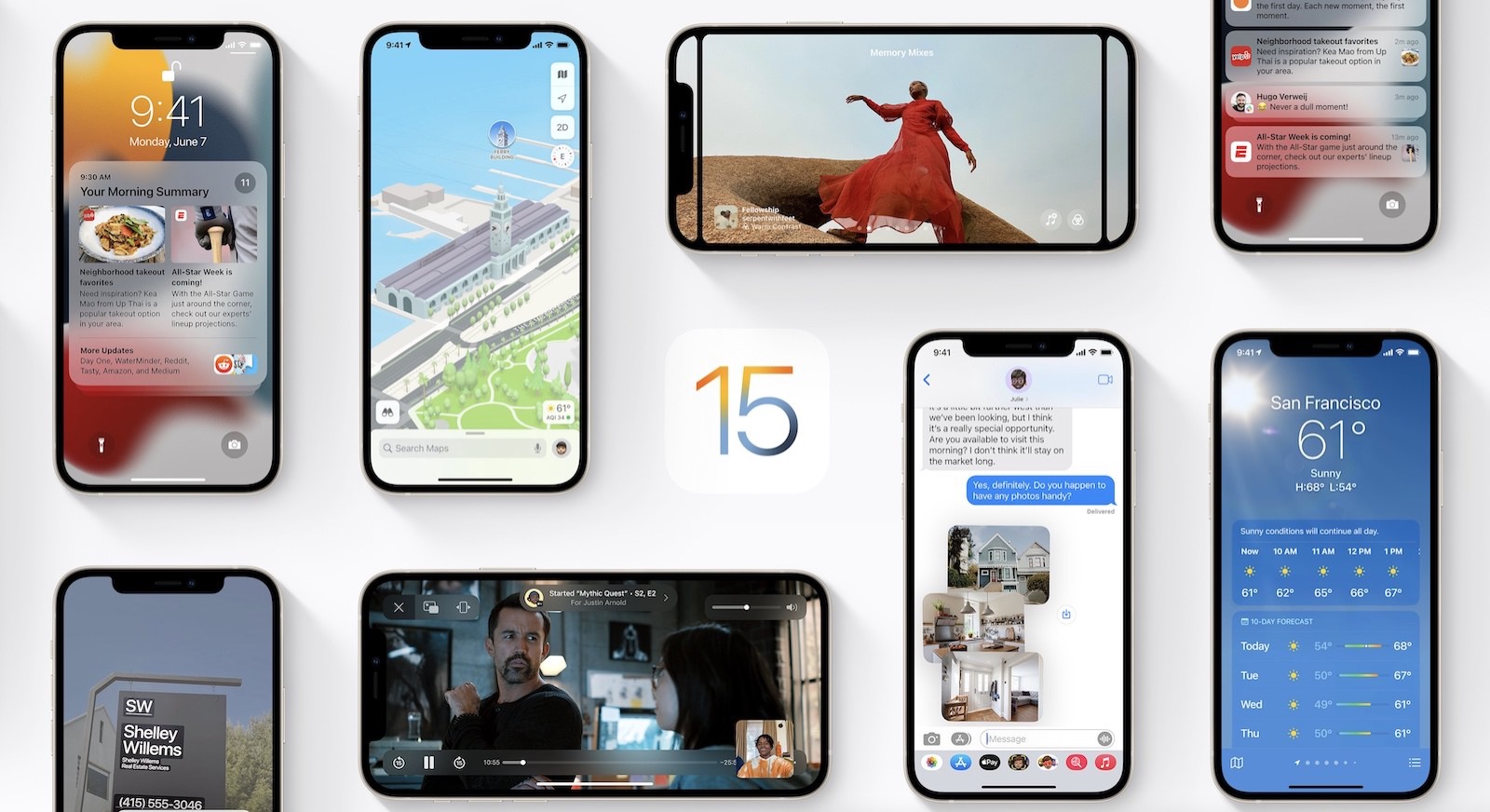 Ios15 preview apple official